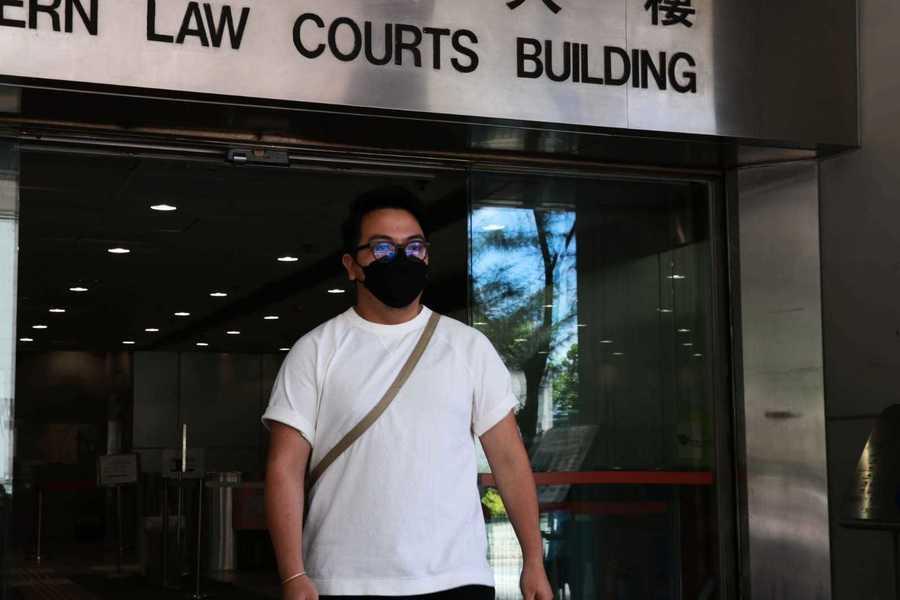 前眾志主席林朗彥涉推撞政總保安 官指證人證供與片段有出入判無罪