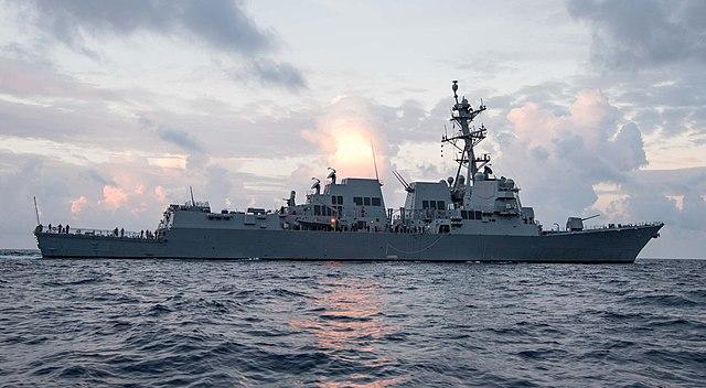 南海軍事衝突風險增 美戰艦進入南沙兩島領海