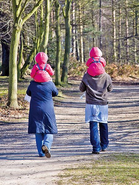 比肩同行互相提攜照顧,《推背圖》56象<比卦>預示瘟疫災異的出路在擇善比行 (pixabay)