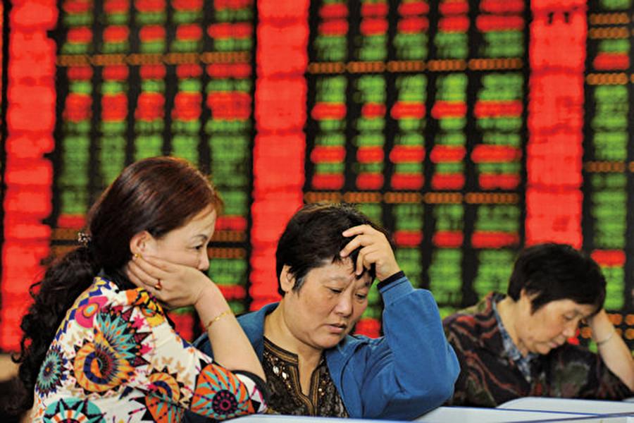 利空來襲 A股全線下跌滬指跌4.5%