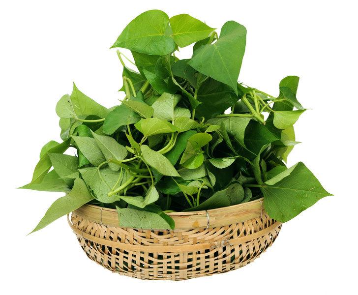 蕃薯葉是窮人吃的菜? 高纖、高鐵、高鈣 常吃身體健康好處多