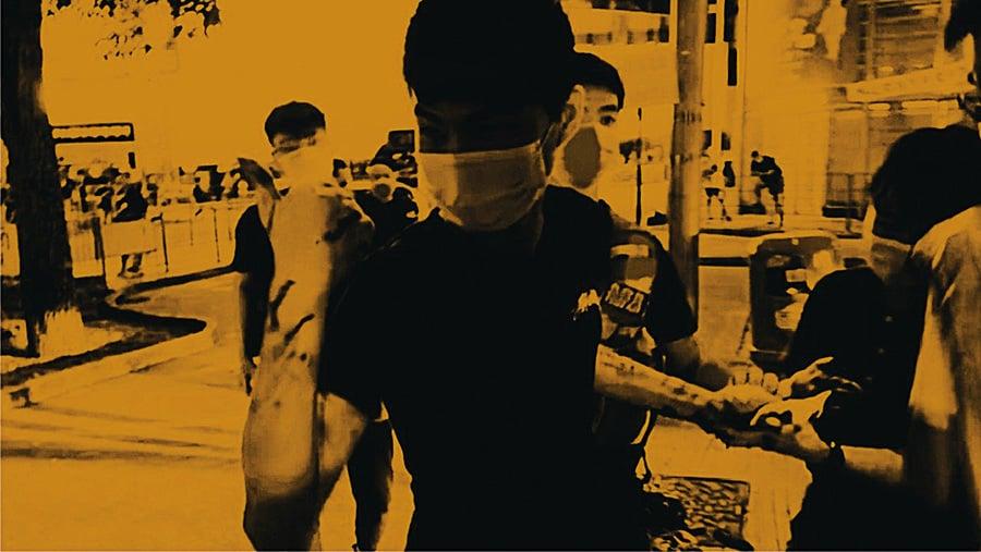 【專訪】青年護記者捱刀傷 斷兩神經線