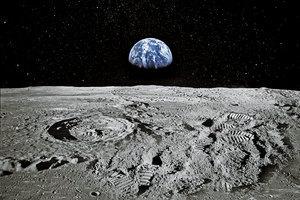 月球探索:次地表層富含金屬
