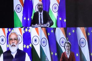 印度與歐盟加強海軍合作 對抗中共擴張