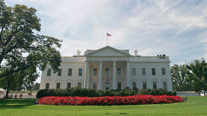 港媒根據美國官方通報及媒體報道推測,特朗普政府至少已擬定從4方面制裁中共。(KAREN BLEIER/AFP via Getty Images)