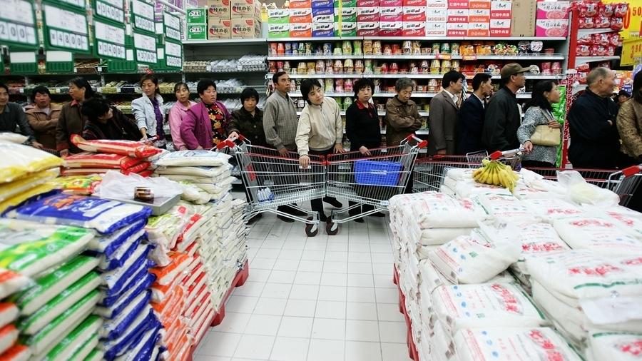 中國27省全泡水 官稱糧食豐收吃糧吃菜有保障