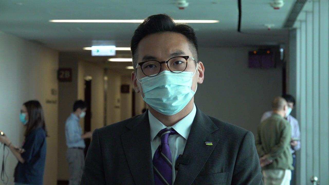 公民黨黨魁楊岳橋。(霄龍/大紀元)