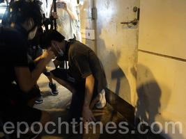 元朗7.21遊行 四區議員被拘捕 收十一張限聚令告票