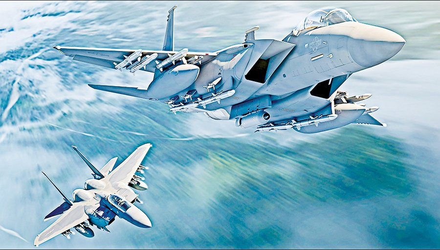 美空軍訂購首批8架F-15EX  汰換老化戰力