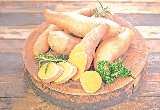 適合生番薯的保存溫度大約是55~60℉(12~16℃)。
