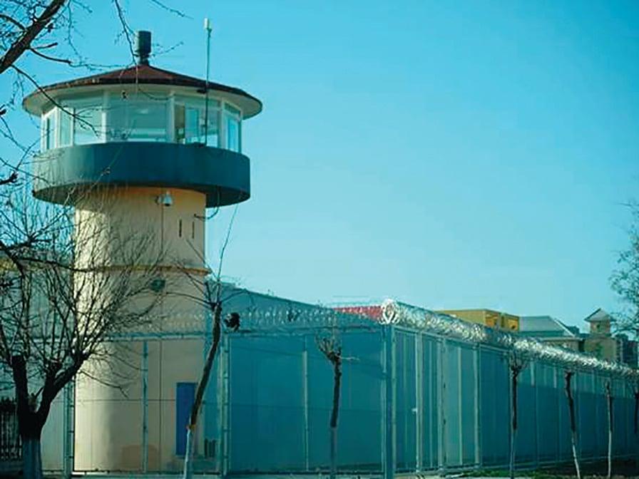 北京女子監獄的崗樓。(大紀元)