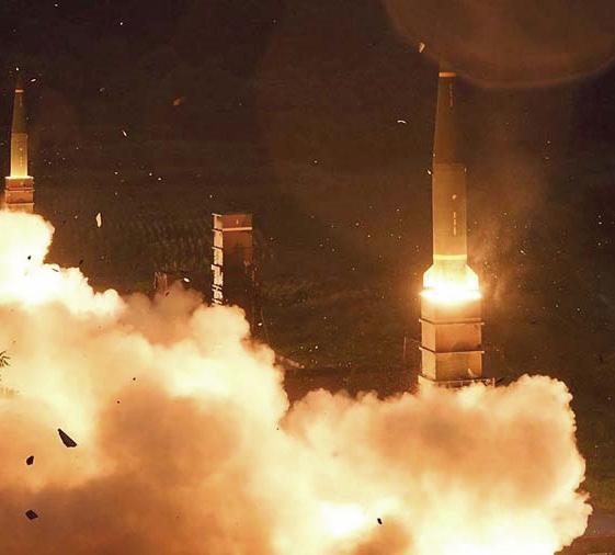 導彈發射示意圖。(Getty Images)