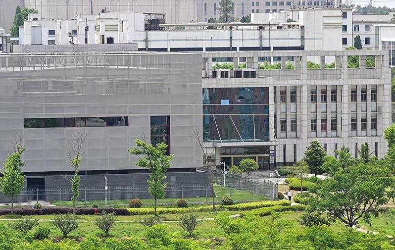 5月13日,中國武漢病毒實驗室外觀。(AFP)