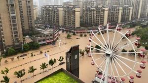 三峽大壩水位暴漲 安徽緊急炸壩洩洪保城市