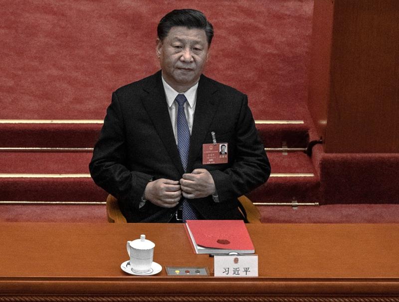 有評論說,江派反習勢力掌控的錢大部分在香港,習不惜打壓香港,想拿回金融權。(Kevin Frayer/Getty Images)