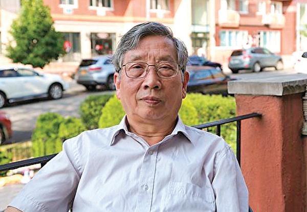 中國問題專家胡平先生。(大紀元)