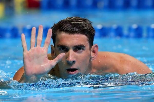 美國「飛魚」菲爾普斯需要通過選拔賽,才能獲得奧運參賽資格。(Tom Pennington/Getty Images)