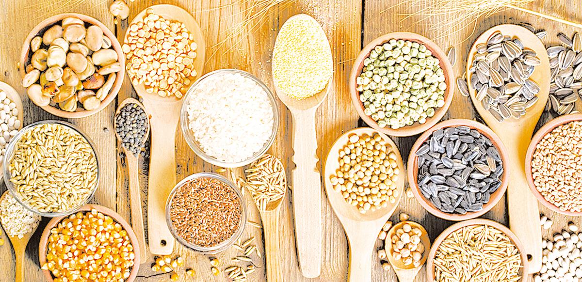 植物的種子是重要的澱粉與蛋白質來源,適合作為居家隔離時的儲糧。