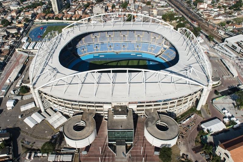 阿維蘭熱奧林匹克體育場(YASUYOSHI CHIBA/AFP/Getty Images)