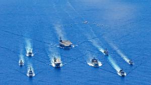美日澳南海聯合軍演 強化協同作戰威懾中共