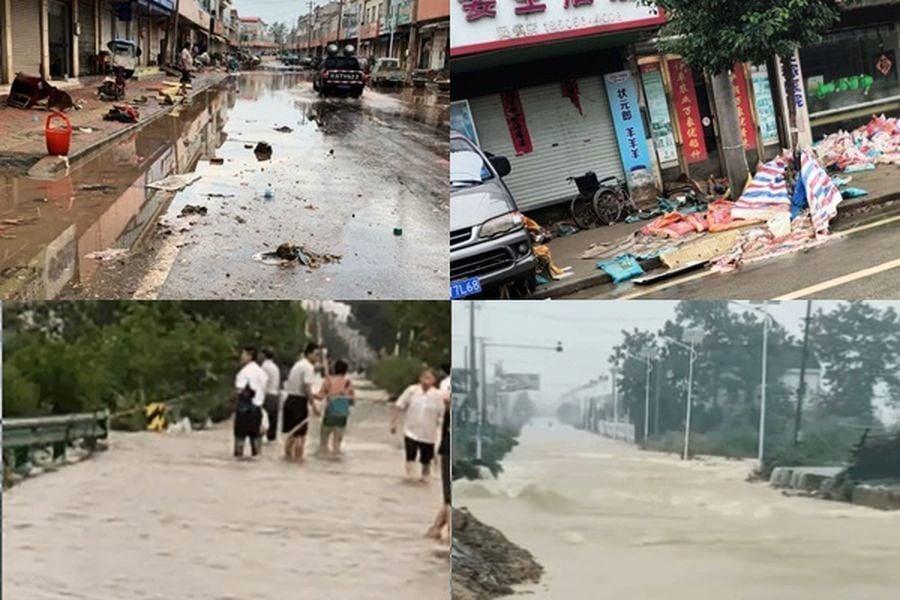 洩洪致全鎮被淹 中國羽絨之都變「鬼城」