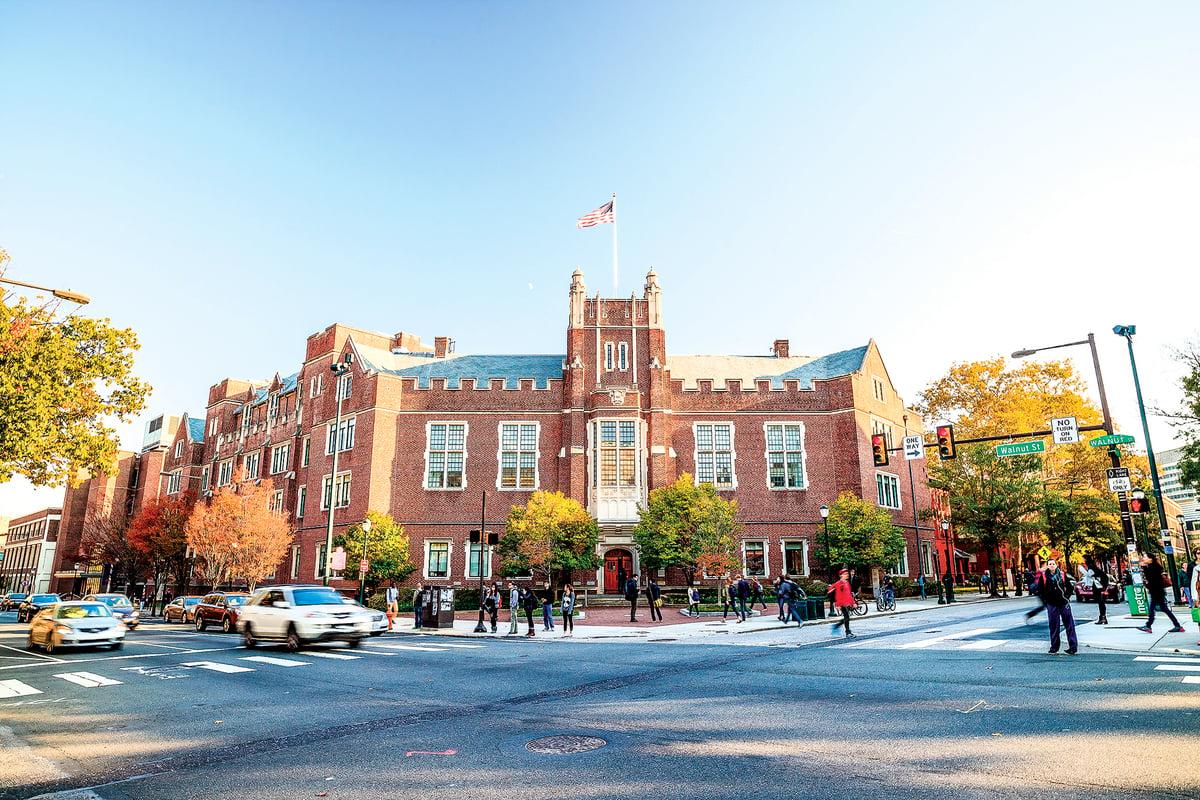 賓夕法尼亞大學,世界著名的常青籐大學,成了中共滲透的目標。(Shutterstock)
