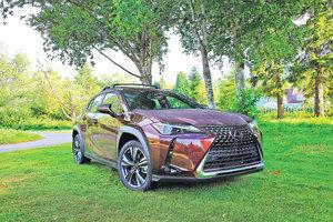 見微知著 2020 Lexus UX200 FSPORT