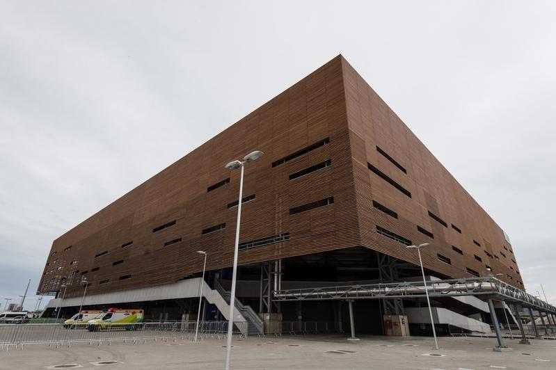 未來體育館(YASUYOSHI CHIBA/AFP/Getty Images)