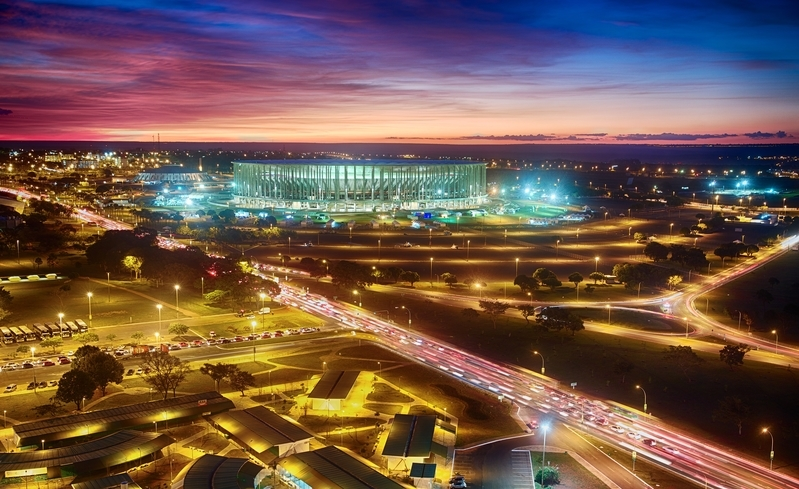 巴西國家體育場(EFFERSON BERNARDES/AFP/Getty Images)