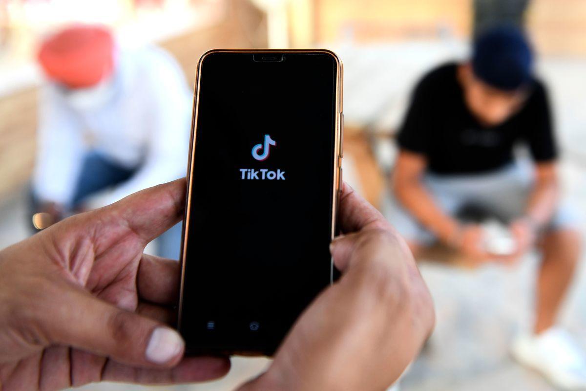 美國眾議院投票,擴大對TikTok禁令。示意圖。(NARINDER NANU/Getty Images)