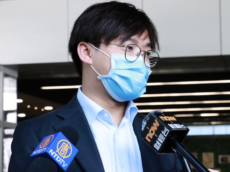 前學民思潮發言人、立言香港召集人張秀賢報名