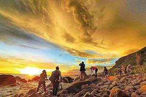 南台灣夕陽之美 ──屏東枋山知名景點