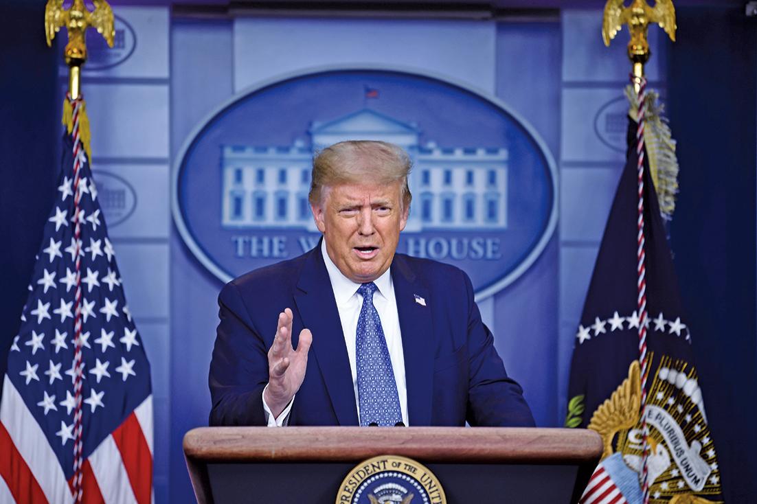 美國總統特朗普周三(7月22日)表示,有可能關閉更多在美的中領館。(AFP)