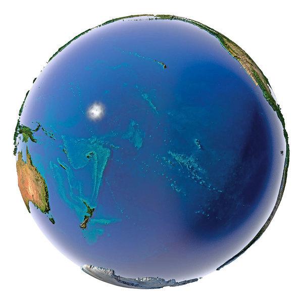 太平洋中心「荒漠」探險:最近的人類在天上