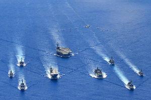 澳艦隊與中共海軍對峙 共軍發佈雷州半島封海公告