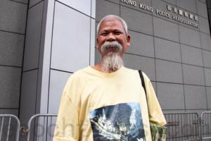 被控「侮辱國旗罪」 古思堯獲准保釋 梁國雄聲援