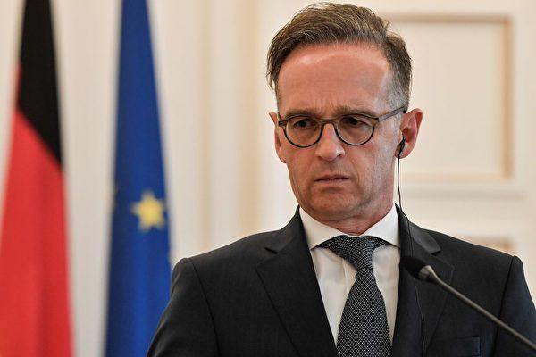 德國外長馬斯宣布,將針對「港版國安法」採取明確制裁措施。(LOUISA GOULIAMAKI/AFP via Getty Images)