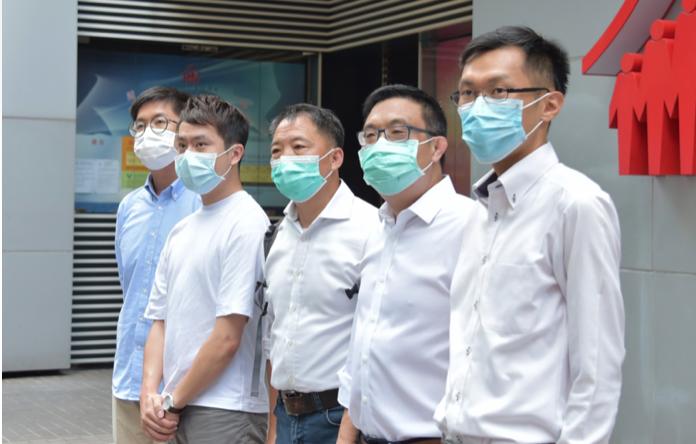 鄺俊宇涂謹申組隊 報名立法會「超區」選舉