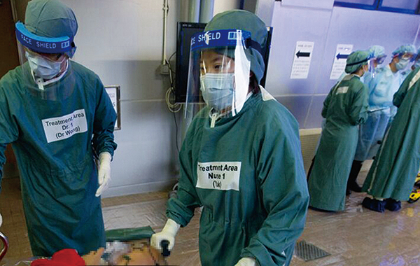 「役情最前線」港過百人等入院 隔離病房爆棚