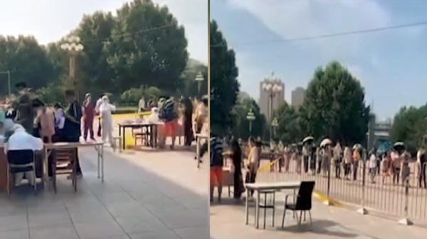 繼新疆之後,遼寧大連市亦爆發中共病毒(俗稱武漢病毒、新冠病毒)疫情,目前已擴散至東北三省。(影片截圖)