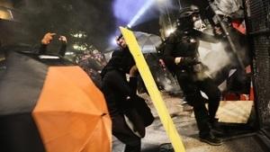多座左翼管轄城市發生暴亂 特朗普批媒體拒報真相
