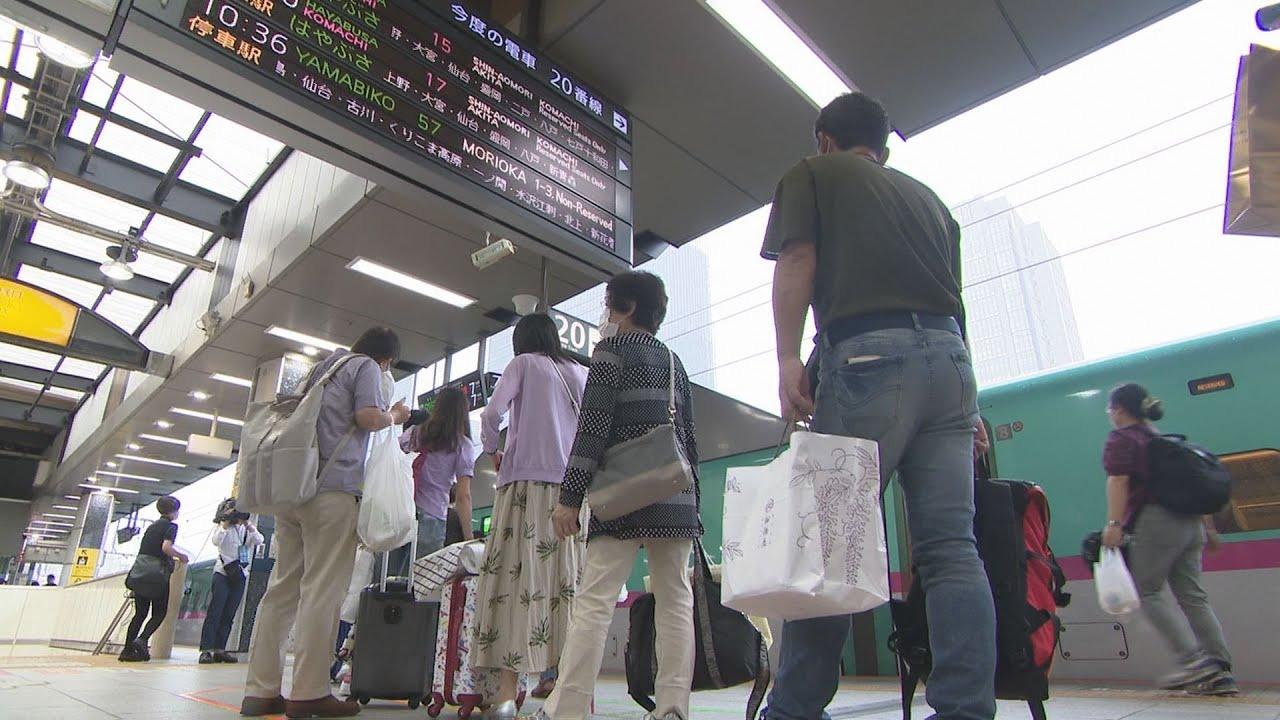 日本疫情連續數日惡化,東京把警戒度上調至4個級別中最高的「疫情正在擴大」級別。(影片截圖)