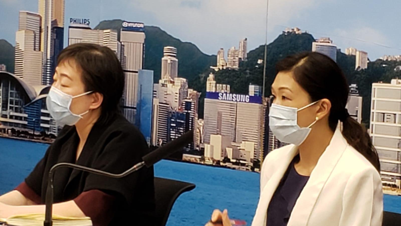 7月27日疫情記者會,本港有145宗新增中共肺炎確診個案。(郭威利/大紀元)