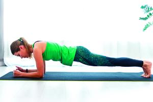 練核心肌群很有效! 棒式運動正確做法