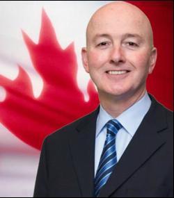 加拿大官方反對黨影子內閣國際權利與宗教自由部長斯維特(David Sweet)。(davidsweet.ca)