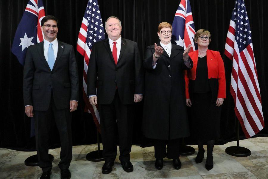 強化圍堵中共 美澳部長級會議 英擬新國防政策