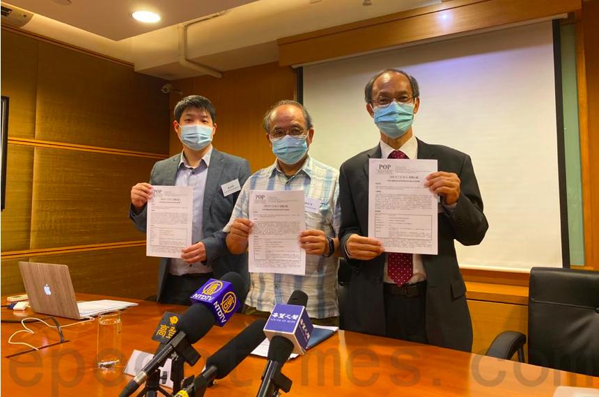 香港民研宣佈選前民調方式 鍾劍華指如期選舉有助紓解民怨