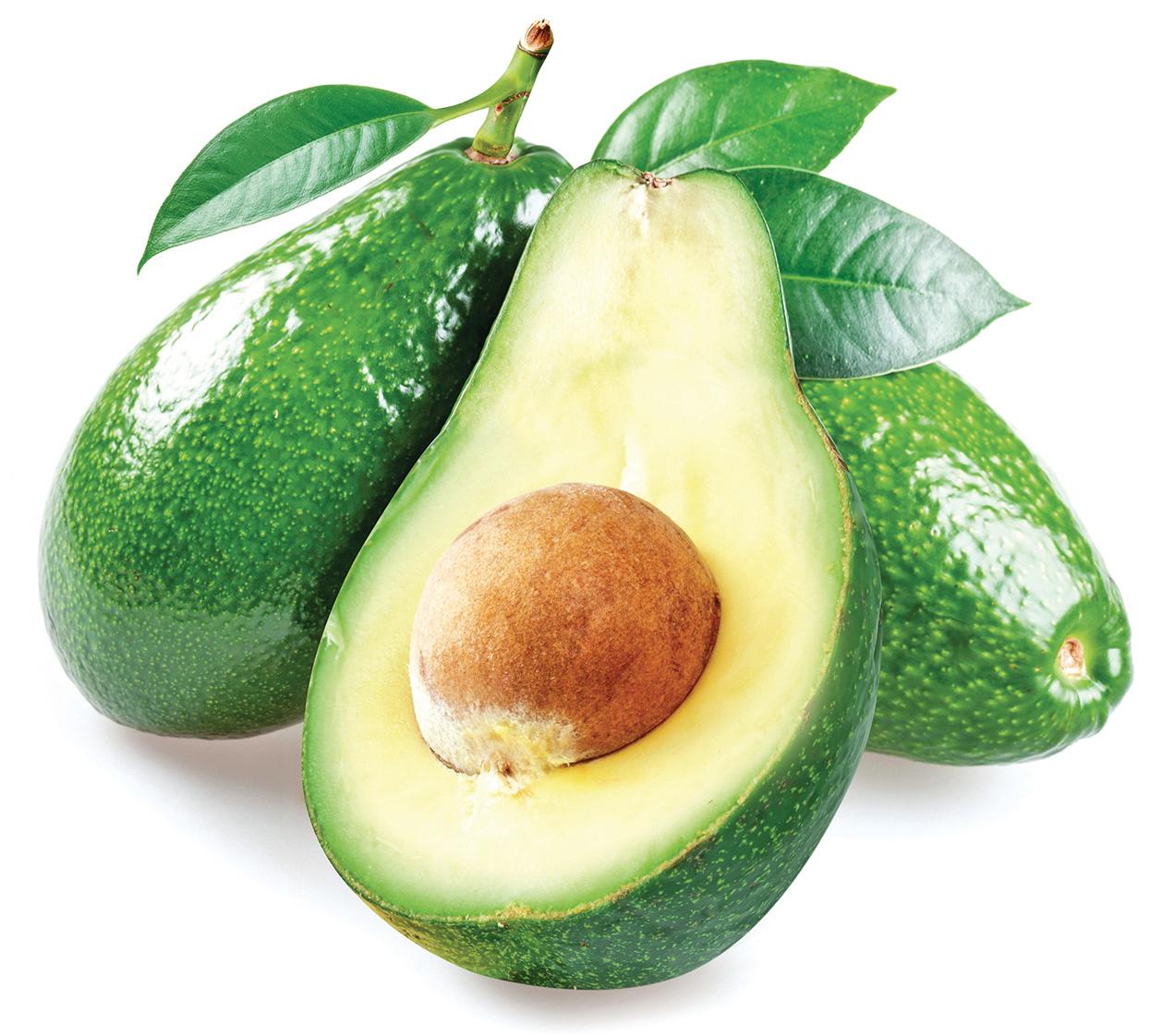 牛油果含不飽和脂肪酸、維他命E,食用後亦能降低壞膽固醇。