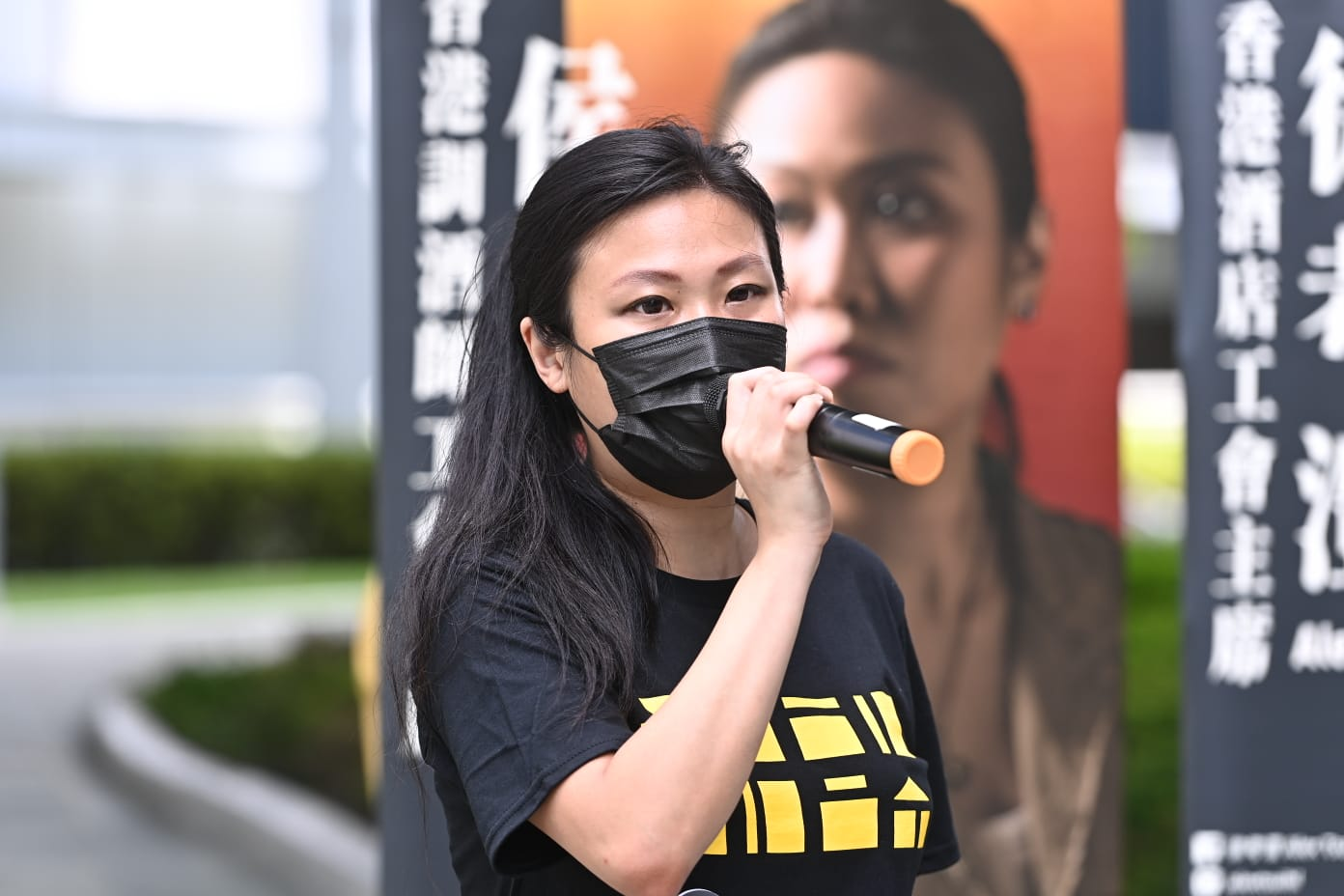香港調酒師工會主席侯翠珊。(宋碧龍 / 大紀元)