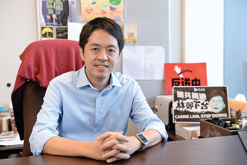香港民主黨立會議員許智峰:民心向背清晰 反暴政到底